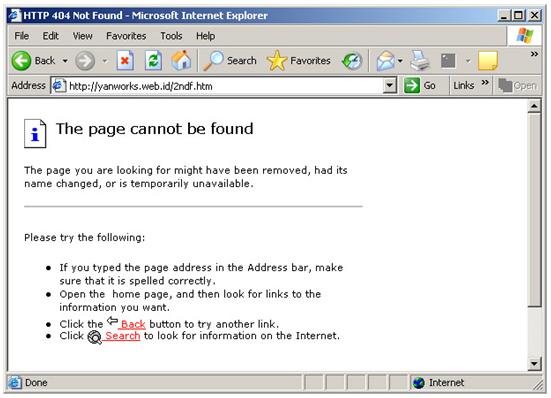Mengatur Custom Error Pages dengan Cpanel