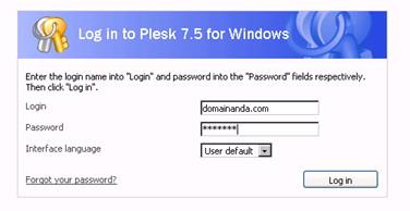 Mengatur custom error pages lewat plesk