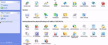 pilih icon DNS