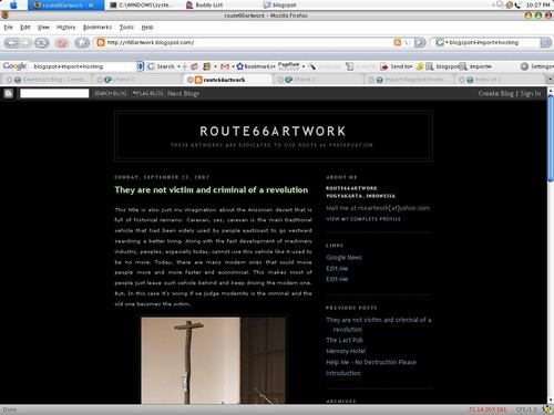 Cara Import Blogspot Ke Domain dan Hosting Sendiri