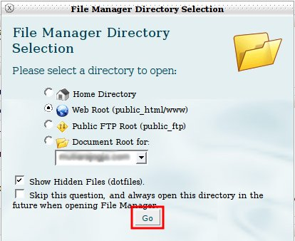 directory public_html