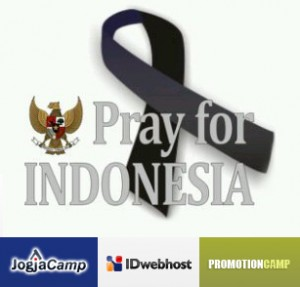 Pray for Indonesia from IDwebhost