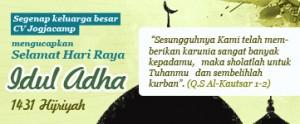 Selamat Hari Raya Idul Adha 1431 H