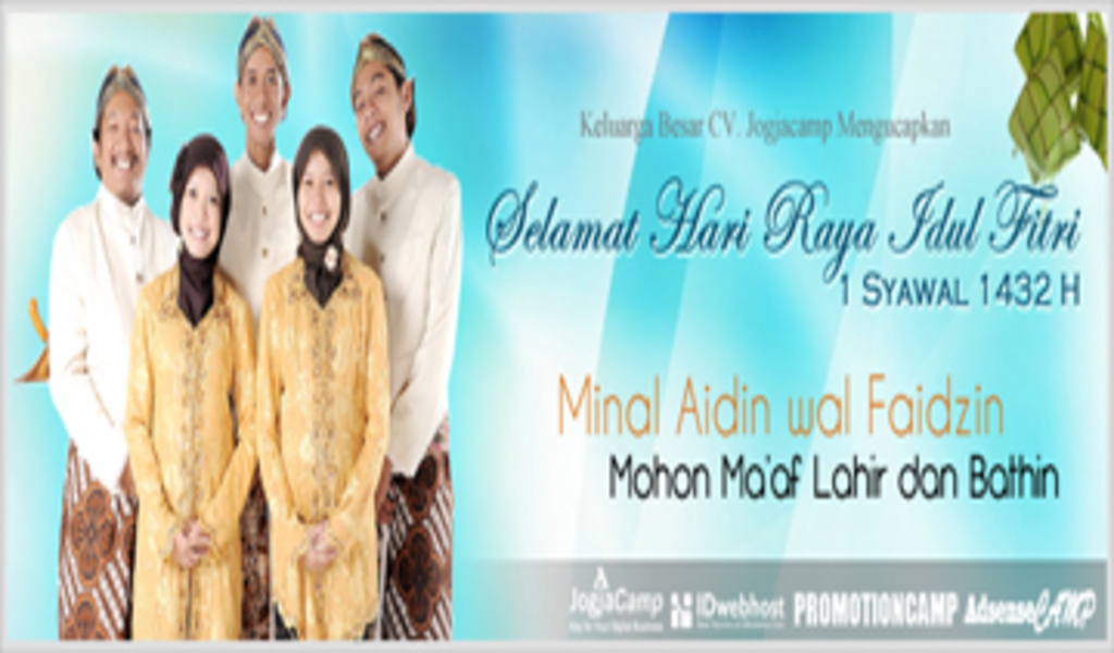 Syawalan 1432 H Keluarga Besar CV JogjaCamp