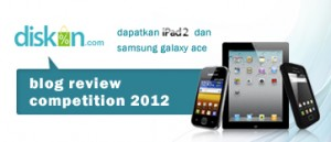 Suka Ngeblog? Ayo Ikutan Blog Review Competition 2012