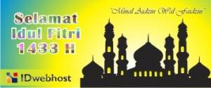 Selamat Idul Fitri 1433 H