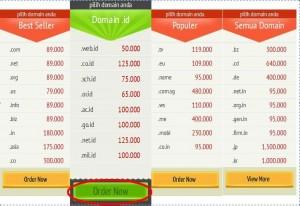 daftar domain murah