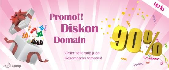 Promo Diskon 90% Domain Web.id [Berakhir]