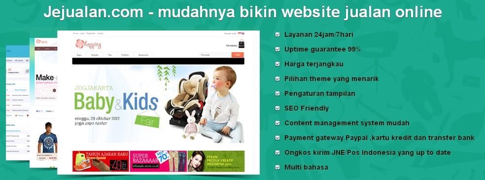 Jejualan untuk Toko Online Anda