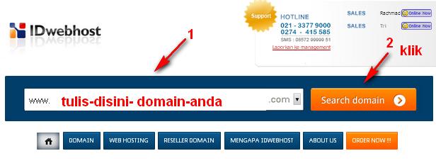 Cara Cek Ketersediaan Domain