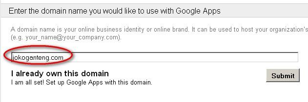 Cara Daftar + Seting Email 7 GB Google Apps