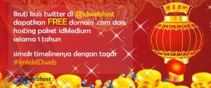 Promo Imlek bersama IDwebhost [Berakhir]