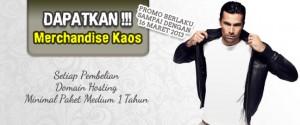 [Berakhir] Promo Kaos Awal Maret 2013