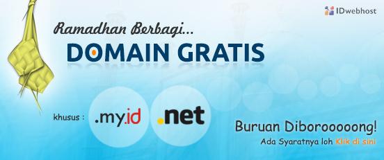 Promo Domain Bulan Juli 2013