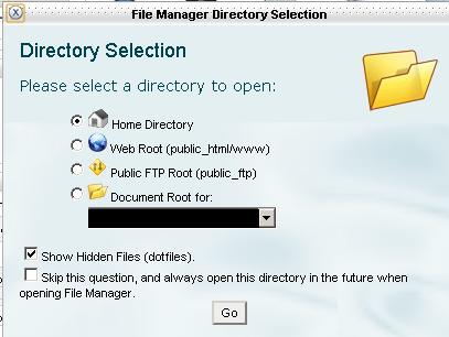 Cara upload file lewat cpanel