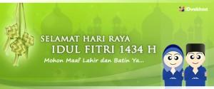 Selamat Idul Fitri 1434 H Mohon Maaf Lahir Batin