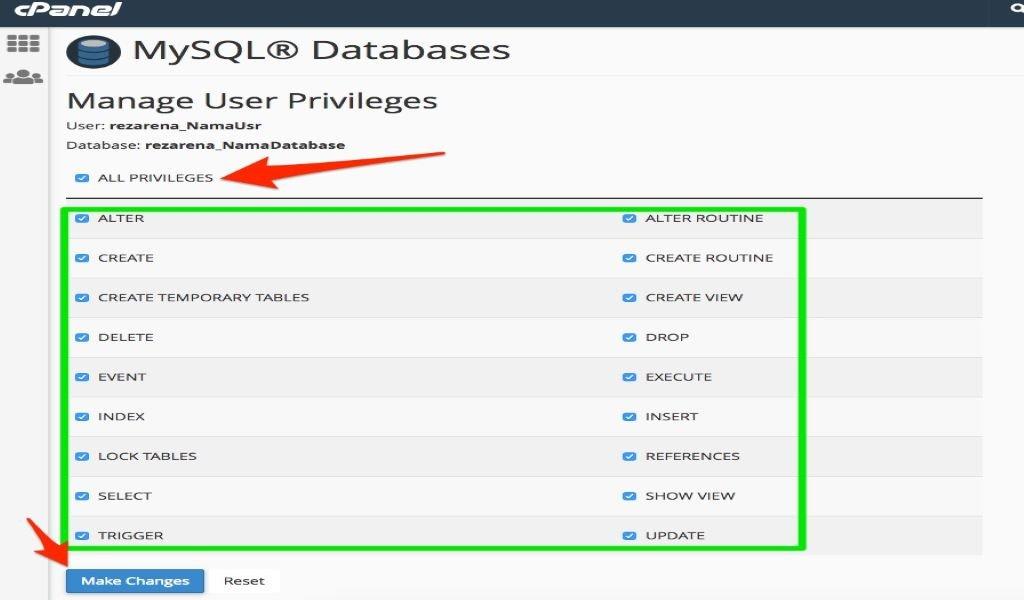 Cara Membuat Database MySQL