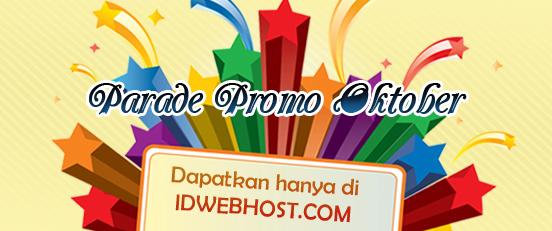 Promo Free Domain Bulan Oktober 2013