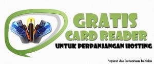 Promo Perpanjangan dapat Card Reader