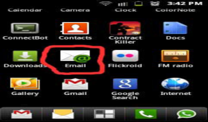 Seting Email di Perangkat Android