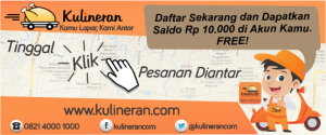 KULINERAN.com Jasa Layanan Antar Makanan di Yogyakarta
