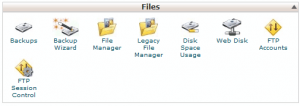 File core.* pada Account Hosting