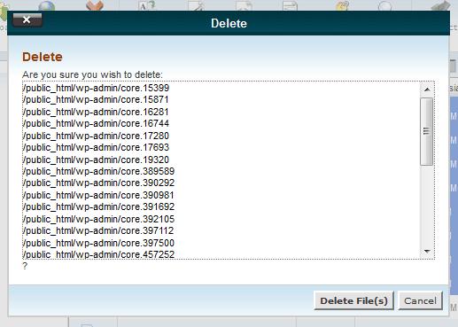 hapus file