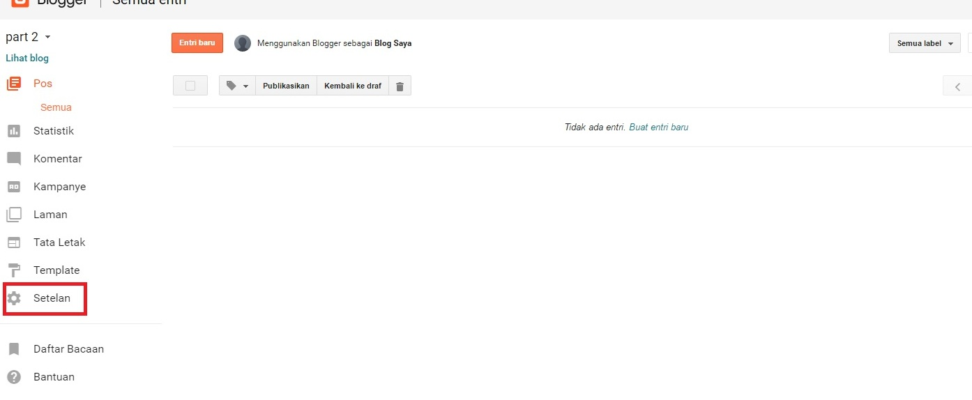 Cara Setting Domain Idwebhost Ke Blogger
