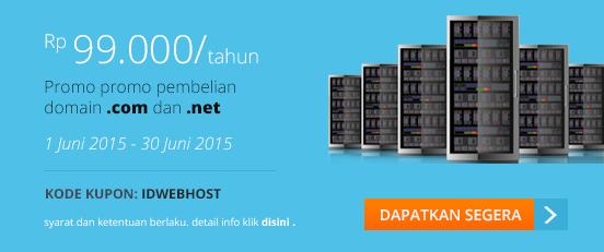 kupon kode promo domain com net juni 2015