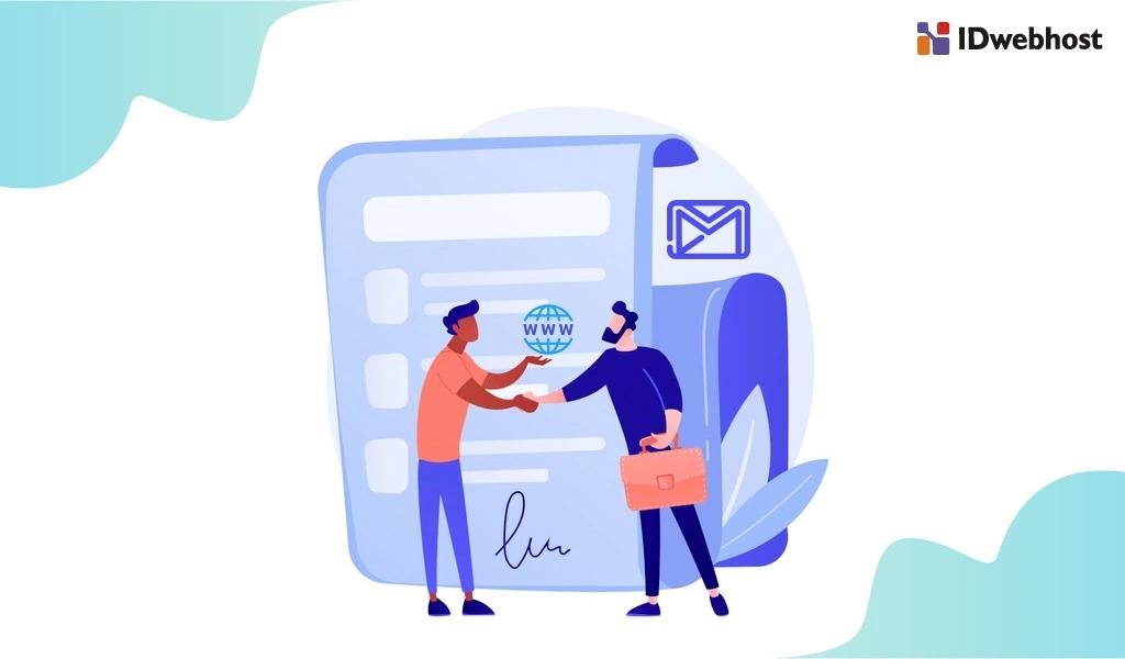 Syarat Ganti Email Account dan Kepemilikan Domain