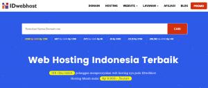 Tips Hosting: Cara Order Hosting Saja di IDwebhost