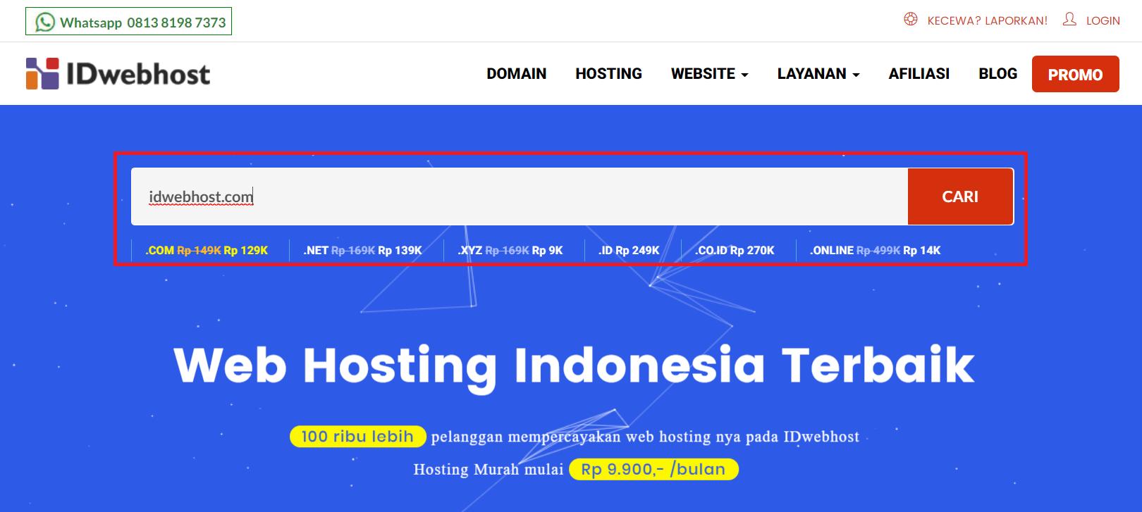 idwebhostcom