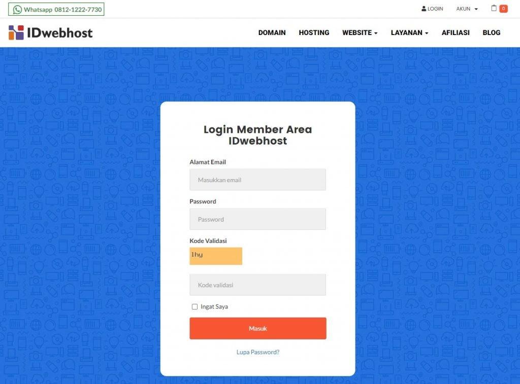 Cara setting URL Frame