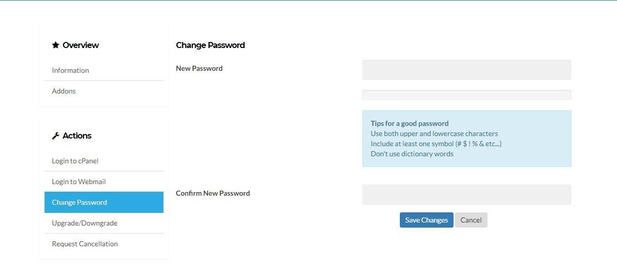 sukses ubah password