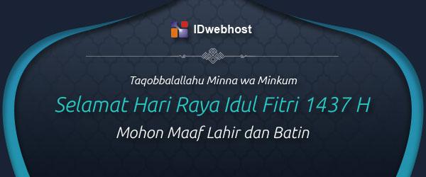 Selamat Hari Raya Idul Fitri 1437 H / 2016 M