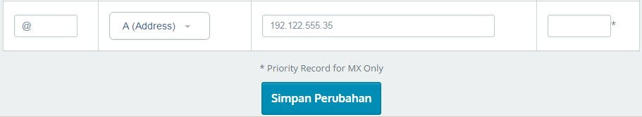 Mengarahkan Domain Ke IP