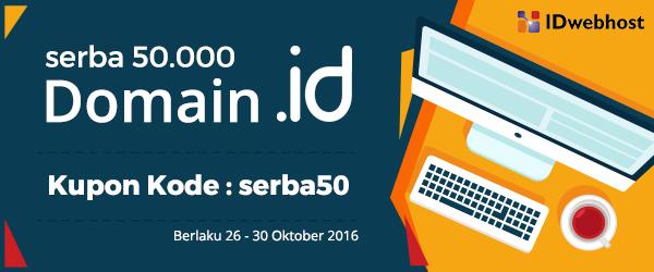 Promo Domain ID Serba 50 ribu