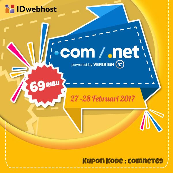 COM NET 69.000 – HANYA 2 HARI