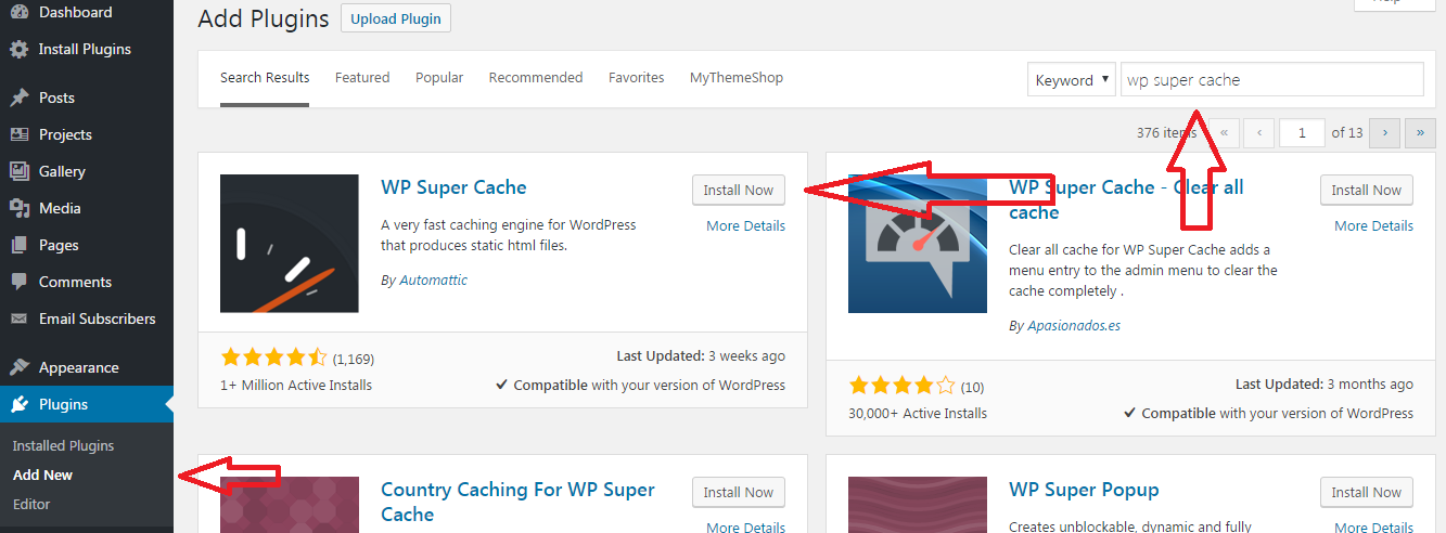 Mempercepat Loading Website dengan Plugin WP Super Cache
