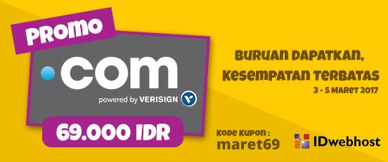 PROMO .COM 69.000 IDR