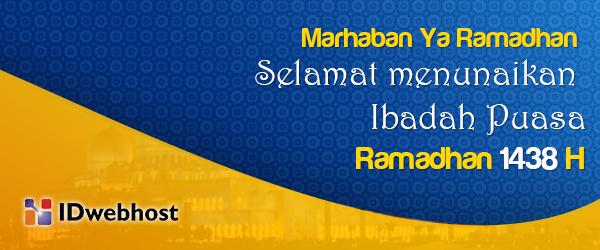 Selamat Ramadhan 1438H