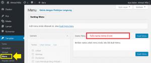 Cara Membuat Menu di WordPress dengan Mudah