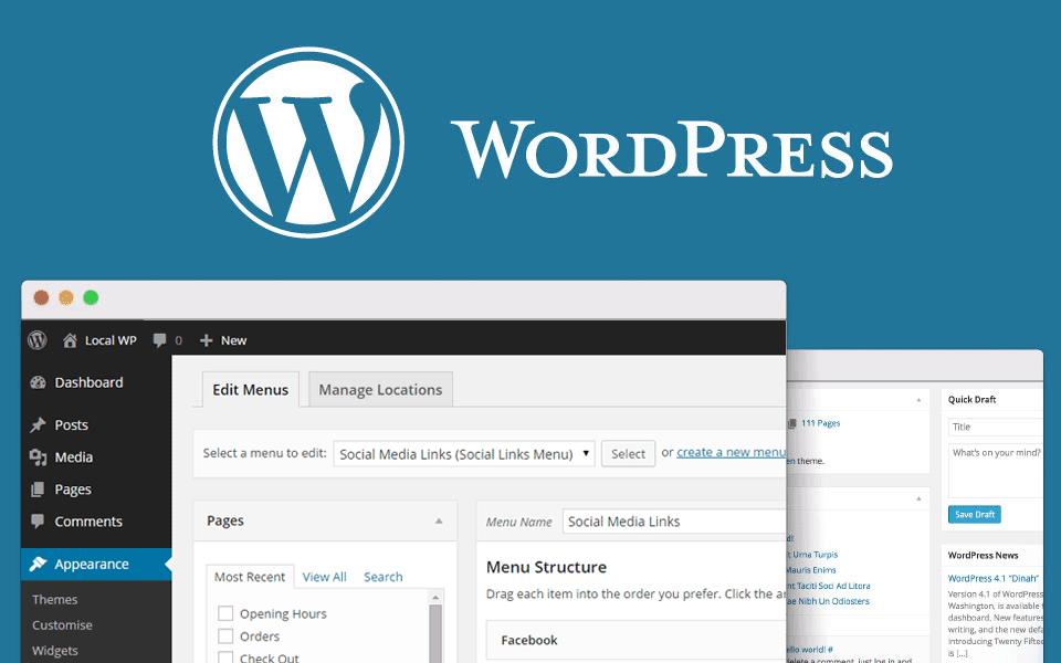 cara membuat menu di wordpress dengan