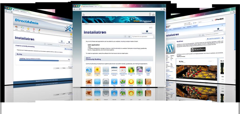 instal website