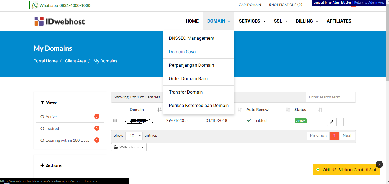 Cara Upload Syarat Domain .ID