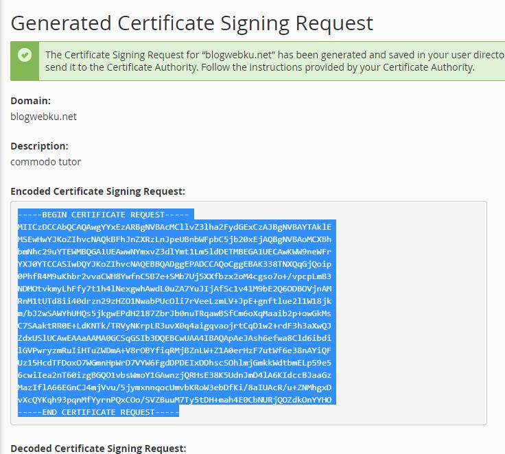 generated code csr