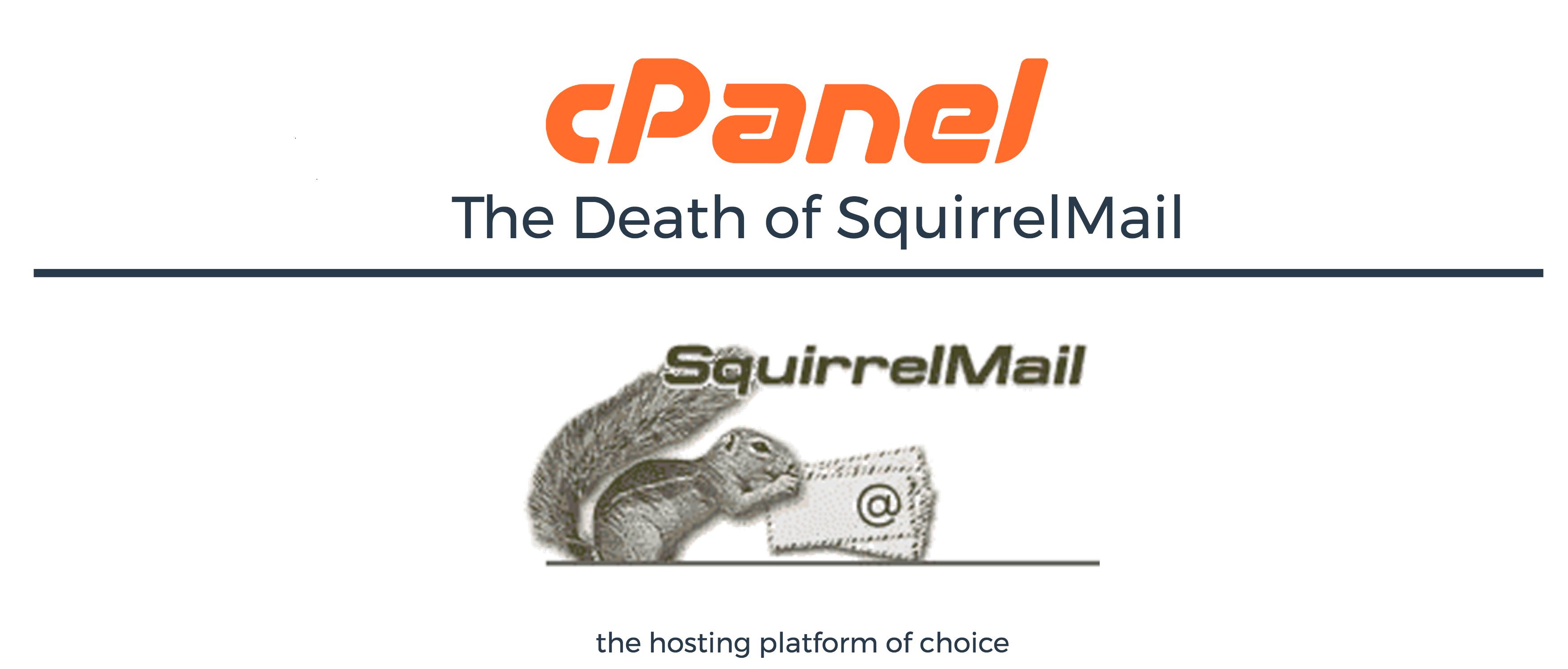 SquirrelMail Akan di tiadakan Oleh cPanel