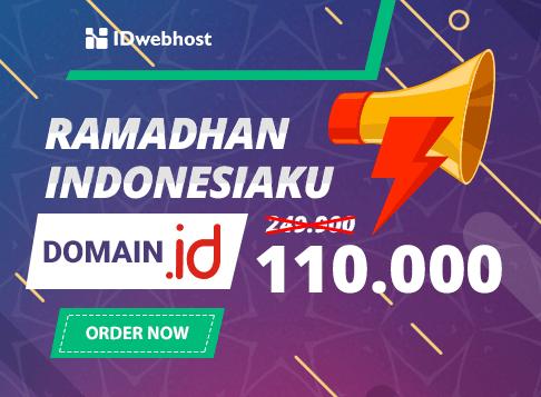 Promo Ramadhan Domain .ID Hanya 110ribu