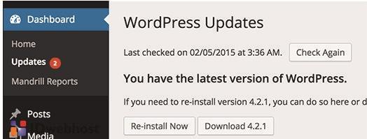 Menjaga Situs WordPress Anda Tetap Diperbarui