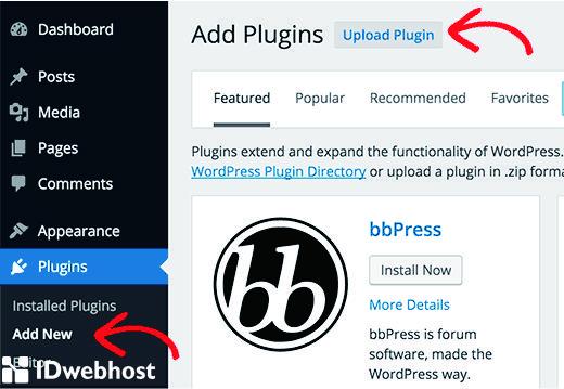 Pasang Plugin Menggunakan WordPress Dengan Upload